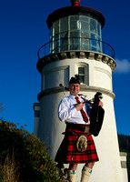 Piper at Heceta Lighthouse II
