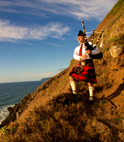 Piper on the Cliffs II