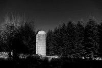 Silo in the Woods