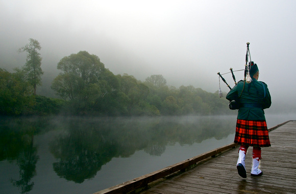 World Piper on the Dock