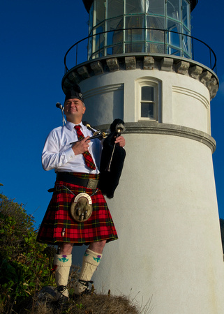 Piper at Heceta Lighthouse III