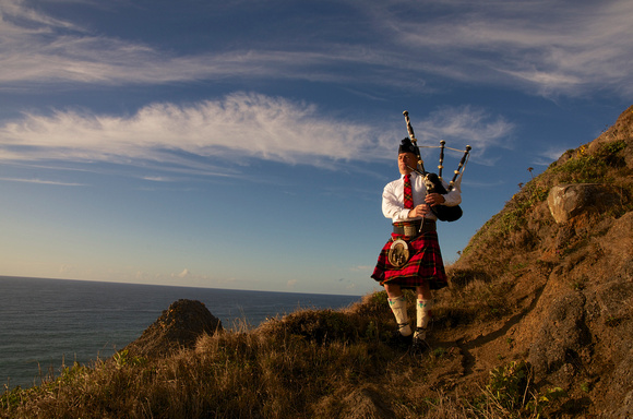 Piper on the Cliffs III